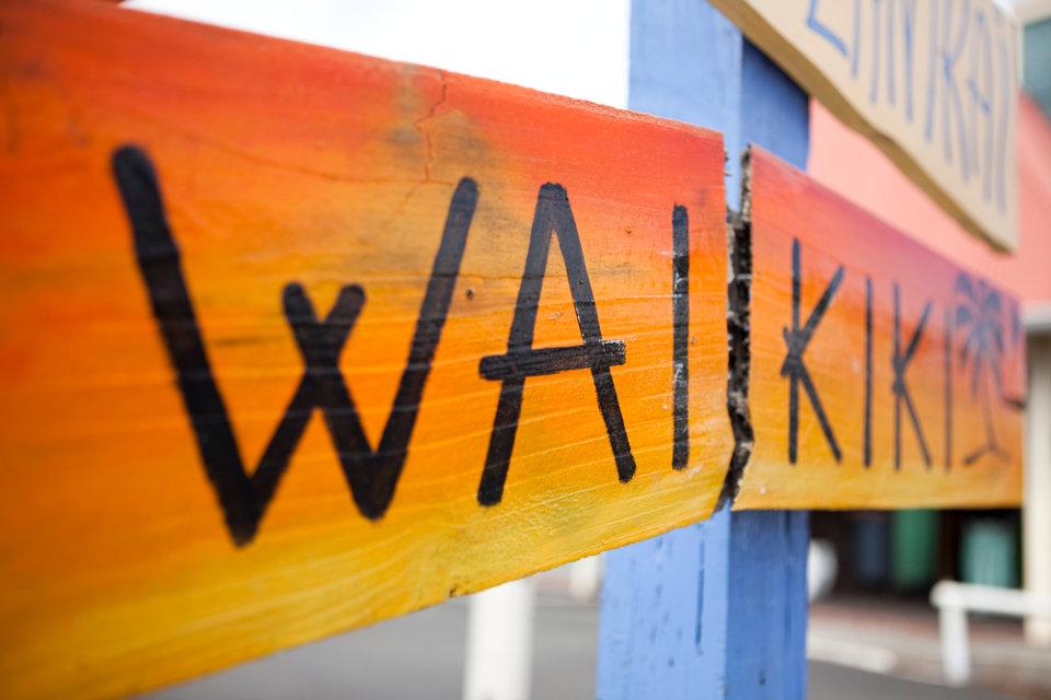 Waikiki-Sign
