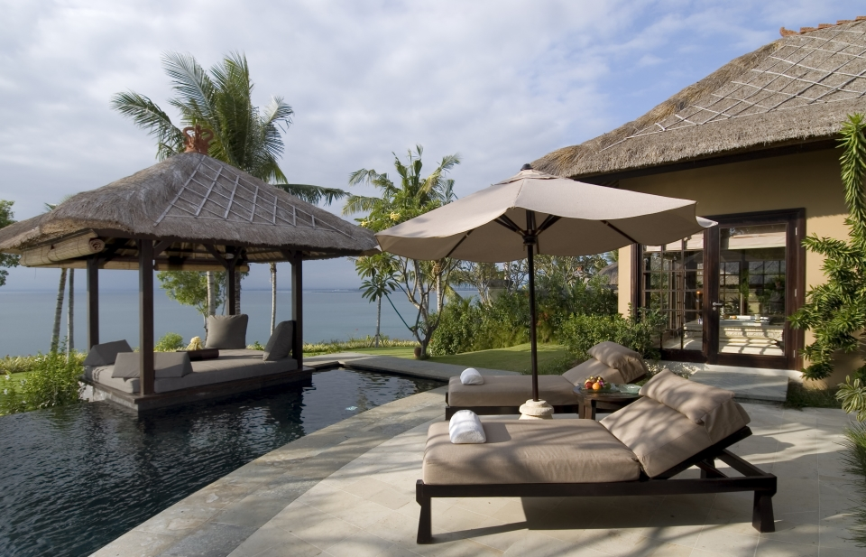 Ayana Ocean Front Cliff Villa Plunge Pool The