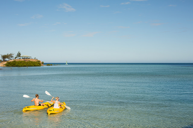 Tropica-kayak