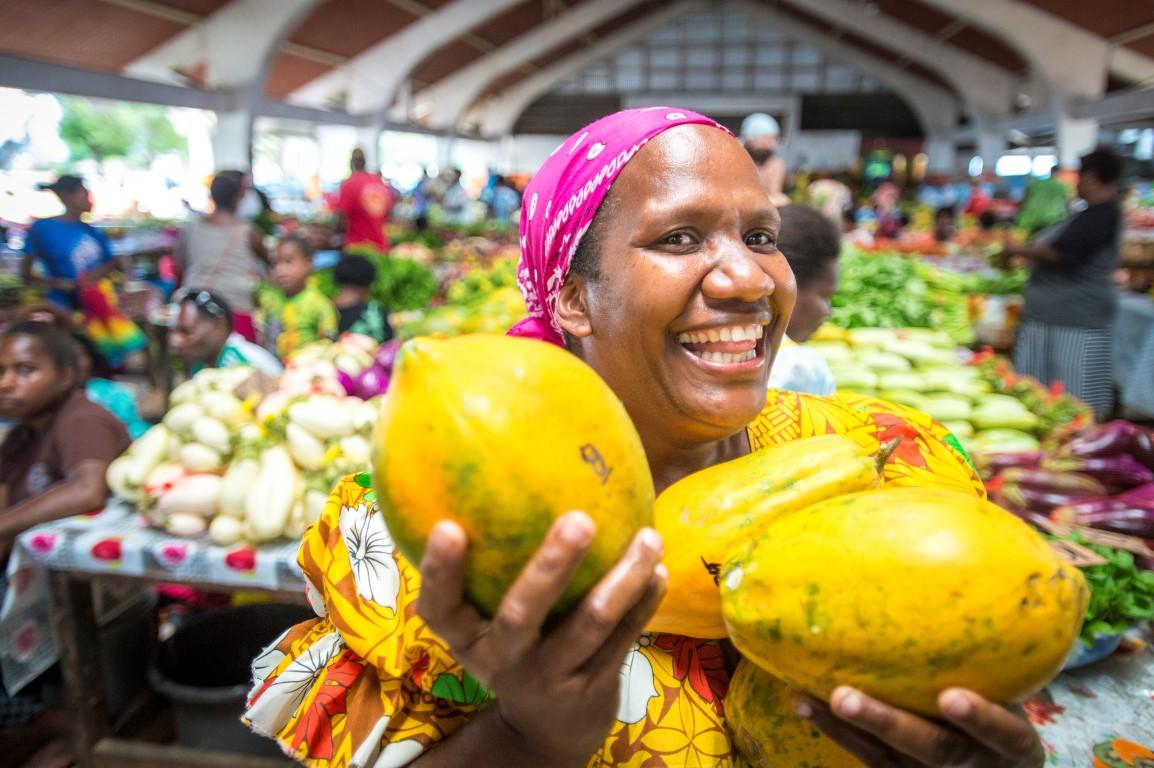 Vanuatu-market