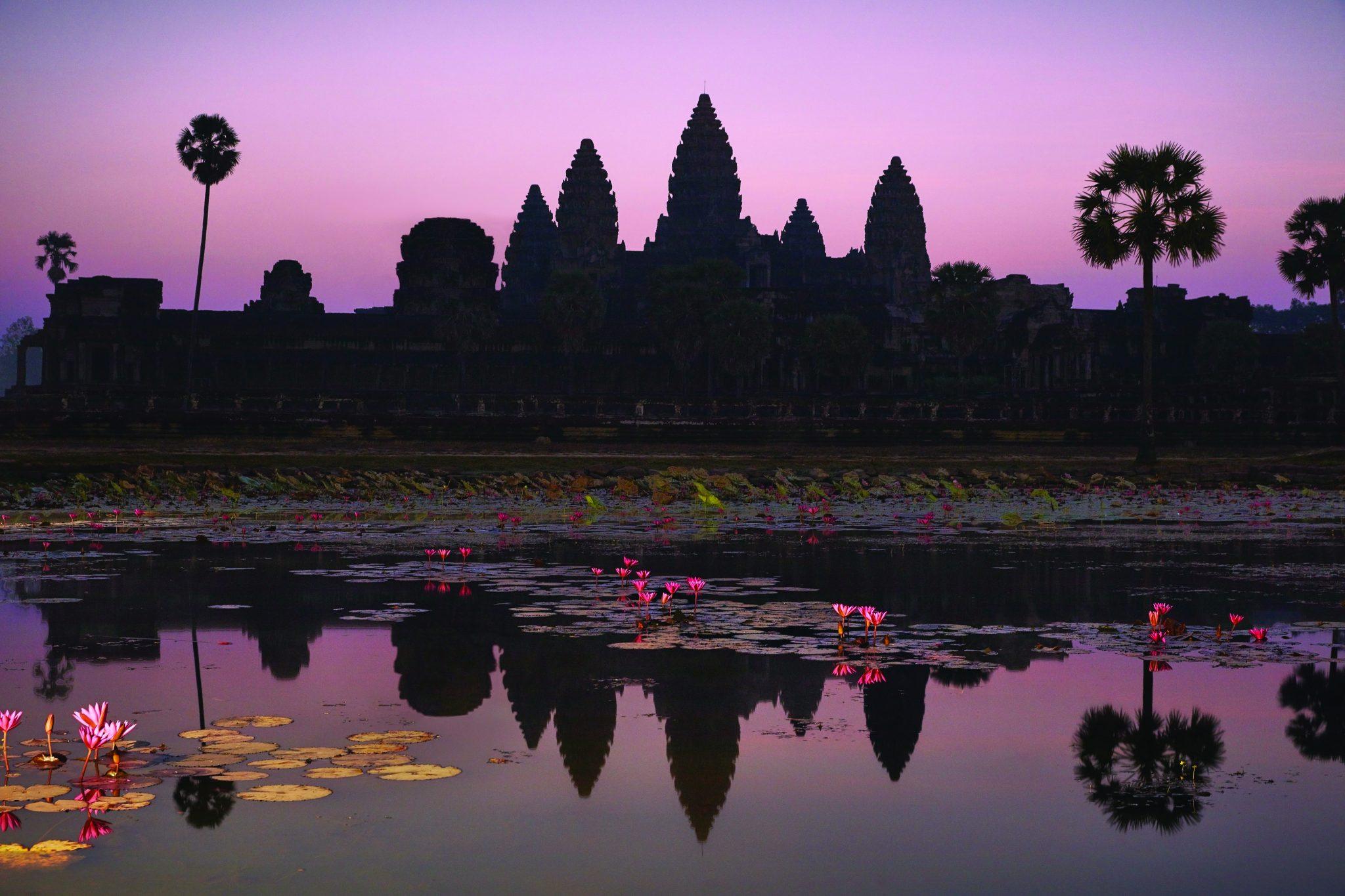 Belmond-La-Residence-Cambodia-Angkor-Wat-dawn