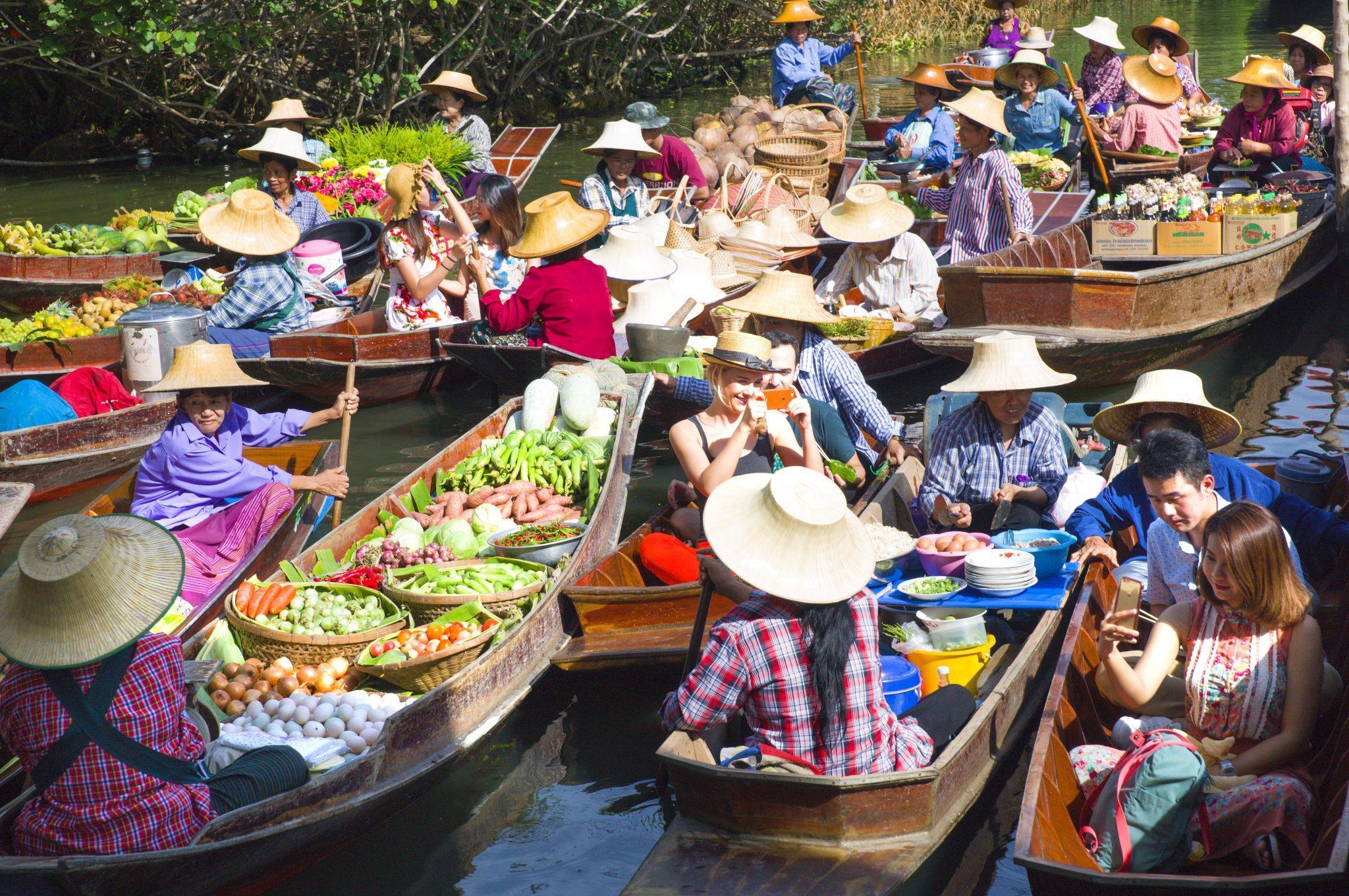 Thailand-Floating-Market